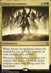 Abzan Ascendancy - Khans of Tarkir