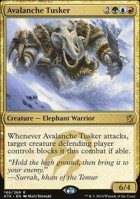Avalanche Tusker - Khans of Tarkir