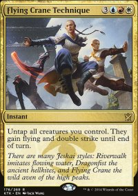 Flying Crane Technique - Khans of Tarkir