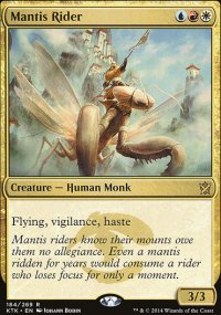 Mantis Rider - Khans of Tarkir