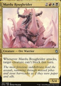 Mardu Roughrider - Khans of Tarkir