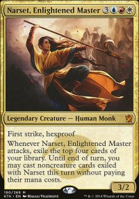 Narset, Enlightened Master - Khans of Tarkir