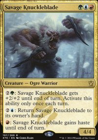 Savage Knuckleblade - Khans of Tarkir