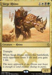 Siege Rhino - Khans of Tarkir