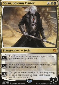Sorin, Solemn Visitor - Khans of Tarkir