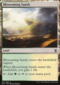Blossoming Sands - Khans of Tarkir