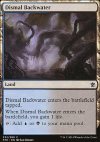 Dismal Backwater - Khans of Tarkir