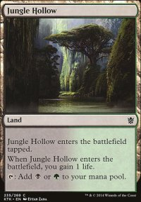 Jungle Hollow - Khans of Tarkir
