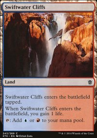 Swiftwater Cliffs - Khans of Tarkir
