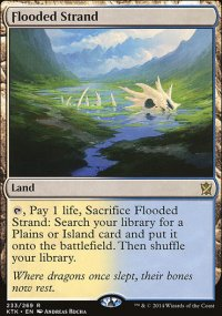 Flooded Strand - Khans of Tarkir