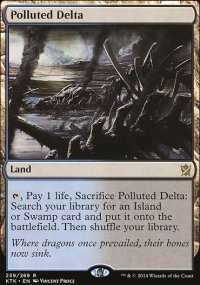 Polluted Delta - Khans of Tarkir