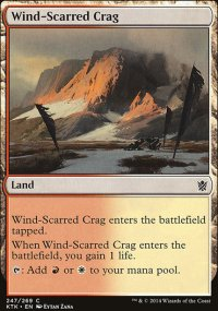 Wind-Scarred Crag - Khans of Tarkir