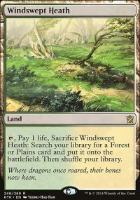 Windswept Heath - Khans of Tarkir