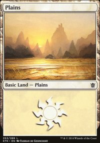 Plains 4 - Khans of Tarkir