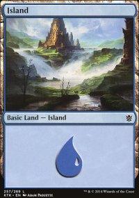 Island 4 - Khans of Tarkir