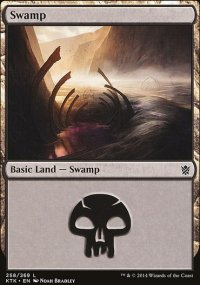 Swamp 1 - Khans of Tarkir