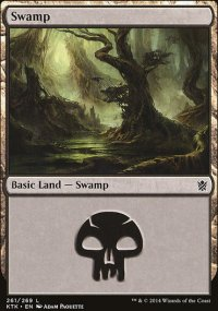 Swamp 4 - Khans of Tarkir