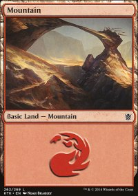 Mountain 1 - Khans of Tarkir