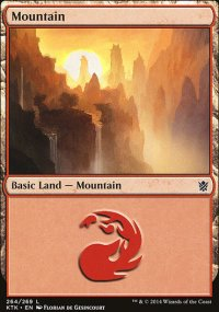 Mountain 3 - Khans of Tarkir