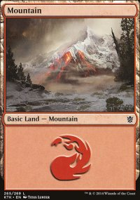 Mountain 4 - Khans of Tarkir
