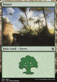 Forest 1 - Khans of Tarkir