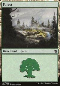 Forest 2 - Khans of Tarkir