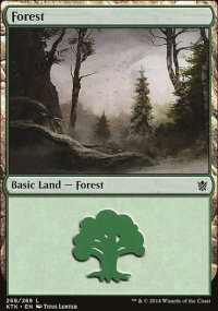 Forest 3 - Khans of Tarkir
