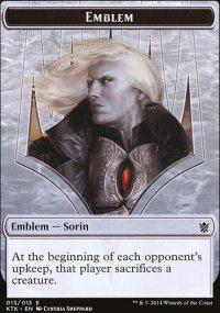 Emblem Sorin, Solemn Visitor - Khans of Tarkir