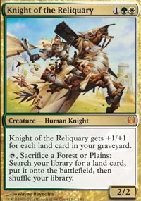 Knight of the Reliquary - Knights vs. Dragons