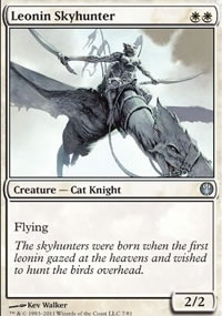 Leonin Skyhunter - Knights vs. Dragons