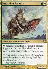 Knotvine Paladin - Knights vs. Dragons