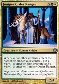 Juniper Order Ranger - Knights vs. Dragons