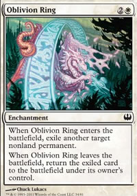 Oblivion Ring - Knights vs. Dragons