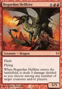 Bogardan Hellkite - Knights vs. Dragons