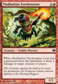 Mudbutton Torchrunner - Knights vs. Dragons