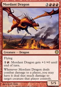 Mordant Dragon - Knights vs. Dragons