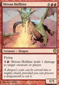 Shivan Hellkite - Knights vs. Dragons