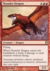 Thunder Dragon - Knights vs. Dragons