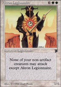 Akron Legionnaire - Legends