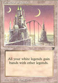 Cathedral of Serra - Legends