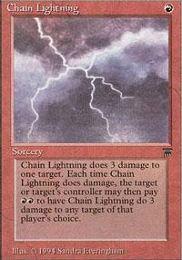 Chain Lightning - Legends