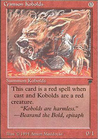 Crimson Kobolds - Legends