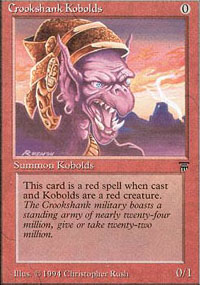 Crookshank Kobolds - Legends