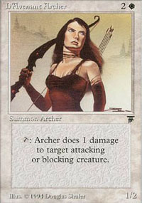 D'Avenant Archer - Legends