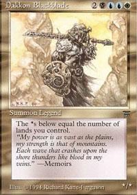 Dakkon Blackblade - Legends