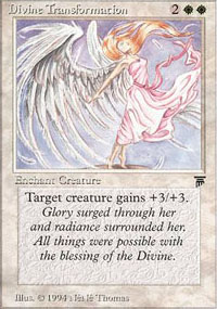 Divine Transformation - Legends