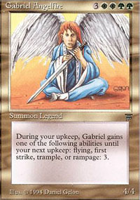 Gabriel Angelfire - Legends