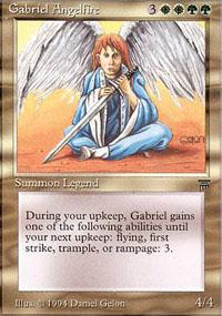 Gabriel Angelfire - Legends