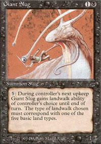 Giant Slug - Legends