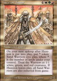 Hazezon Tamar - Legends